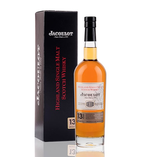 Jacoulot highland single malt scotch whisky 13ans coffret