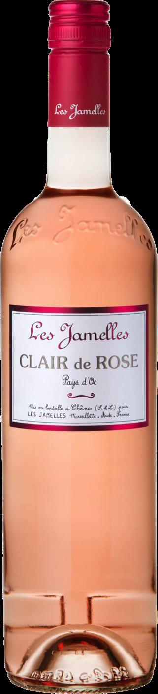 Les jamelles clair de rose