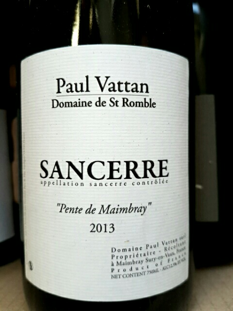 Sancerre romble