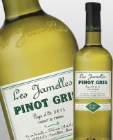 Vin pinot gris cepage rare les jamelles languedoc roussillon